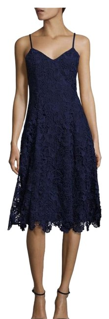 Preload https://img-static.tradesy.com/item/21554151/alice-olivia-navy-blue-lace-spaghetti-strap-mid-length-cocktail-dress-size-2-xs-0-3-650-650.jpg