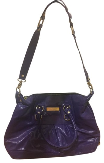 Preload https://item1.tradesy.com/images/with-gold-hardware-purple-calfskin-leather-satchel-21554235-0-1.jpg?width=440&height=440