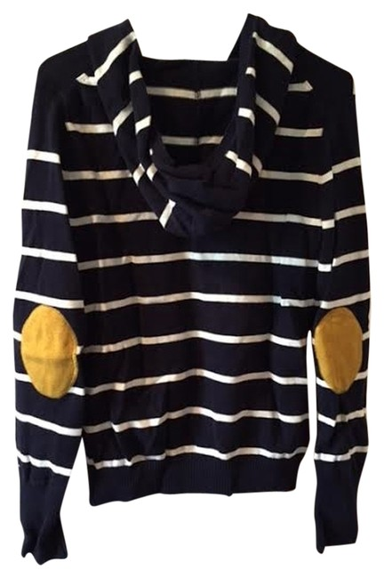 Preload https://item3.tradesy.com/images/tommy-hilfiger-navy-with-white-stripes-hoodie-sweaterpullover-size-10-m-2155427-0-0.jpg?width=400&height=650