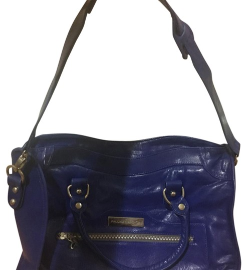 Paulina Carcach Satchel in Blue