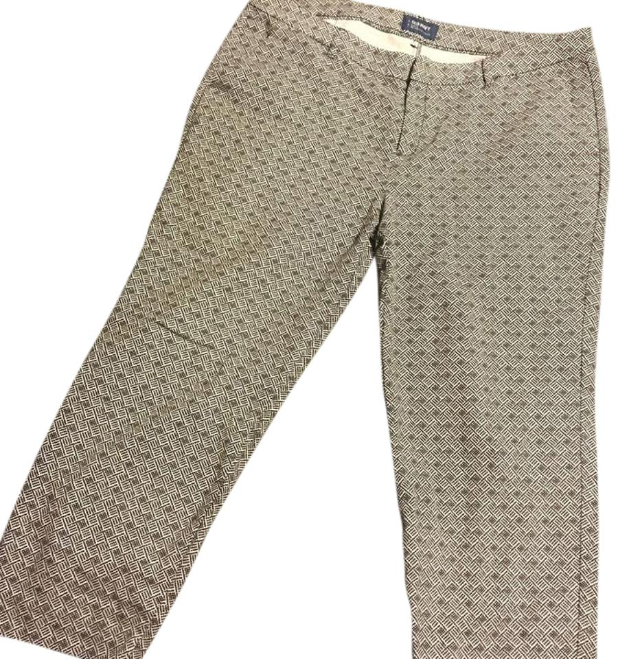 822e672fd97 Old Navy Black and White Pattern Harper Mid-rise Pants Size 16 (XL ...