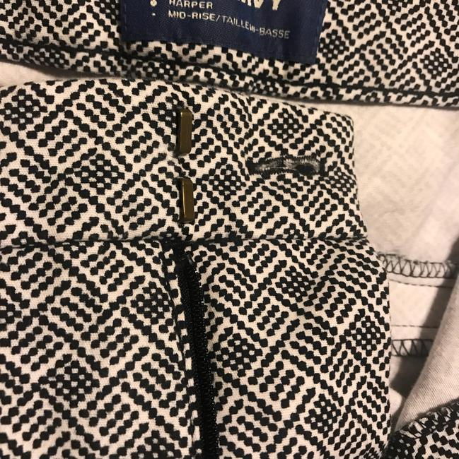 Old Navy Capri/Cropped Pants black and white pattern