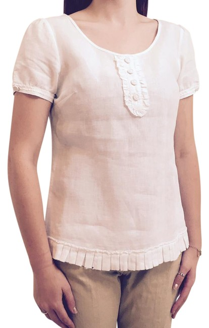 Preload https://item4.tradesy.com/images/tracy-m-white-none-blouse-size-12-l-21554348-0-1.jpg?width=400&height=650