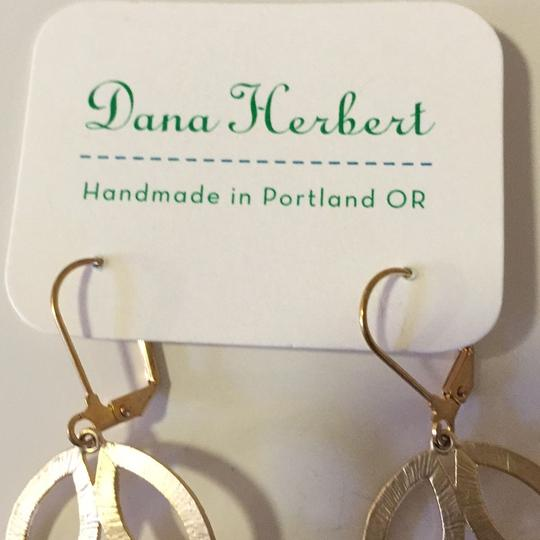 Dana Herbert Gold Leaf earrings