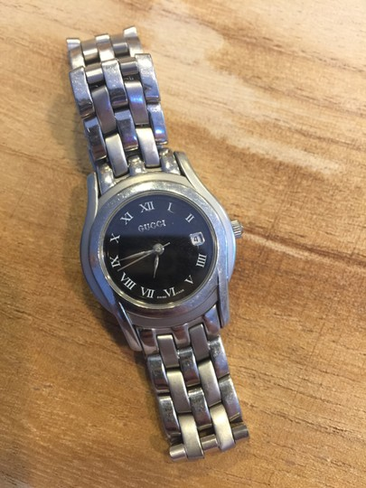 Gucci 5500L Stainless Steel Quartz Ladies Watch
