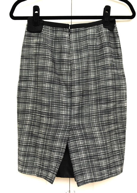 Other Pencil Skirt Gray and black