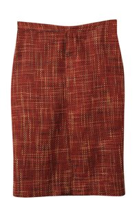 Other Pencil Skirt orange/ red