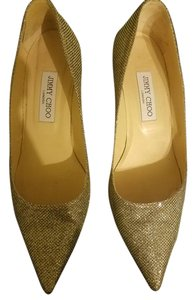 Jimmy Choo Glitter Pumps