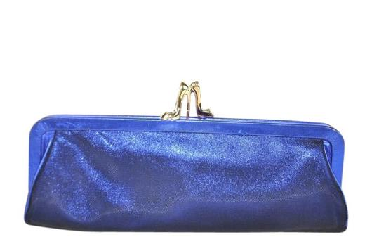 Preload https://item3.tradesy.com/images/christian-louboutin-loubi-metallic-blue-leather-mesh-clutch-21554587-0-1.jpg?width=440&height=440