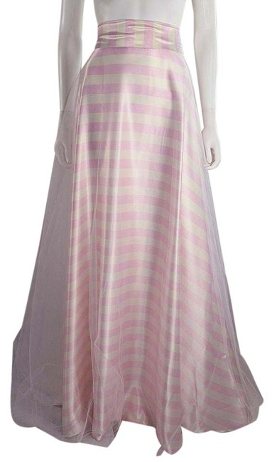 Preload https://item5.tradesy.com/images/lisa-nieves-pink-and-white-pin-stripe-satin-with-tulle-overlay-maxi-skirt-size-6-s-28-21554634-0-1.jpg?width=400&height=650
