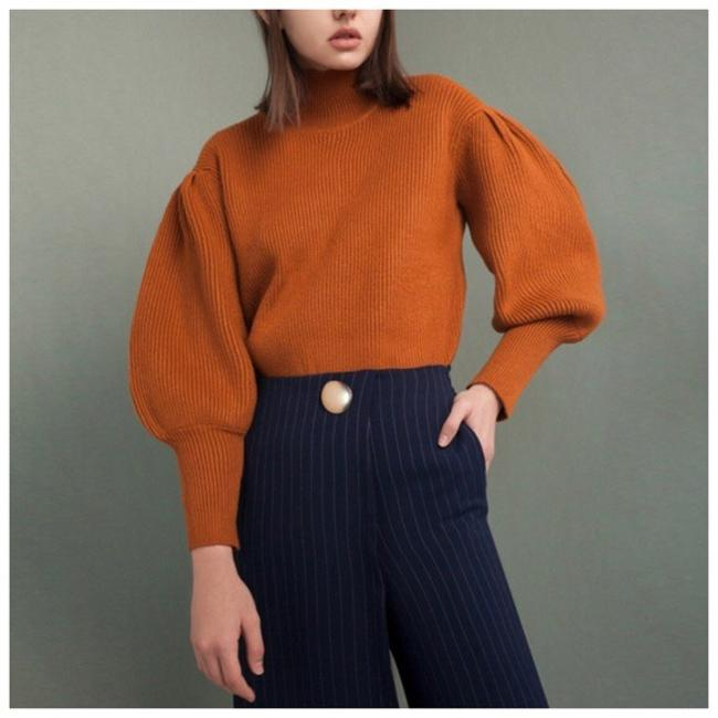 Other Puff Sleeve Knit Sweater