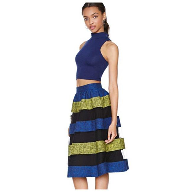 Other Skirt Blue Black Gold
