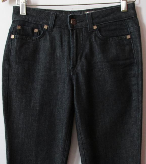 henry 3 generation Boot Cut Jeans-Dark Rinse