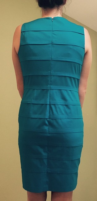 Calvin Klein Stitch Banded Pleats Dress