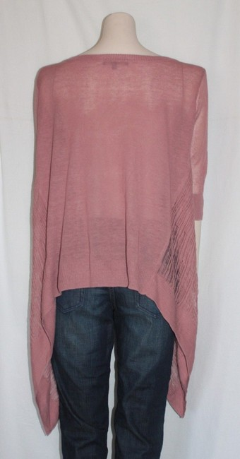 Matty M Distressed Asymmetric Hem Summer Oversized Sweater