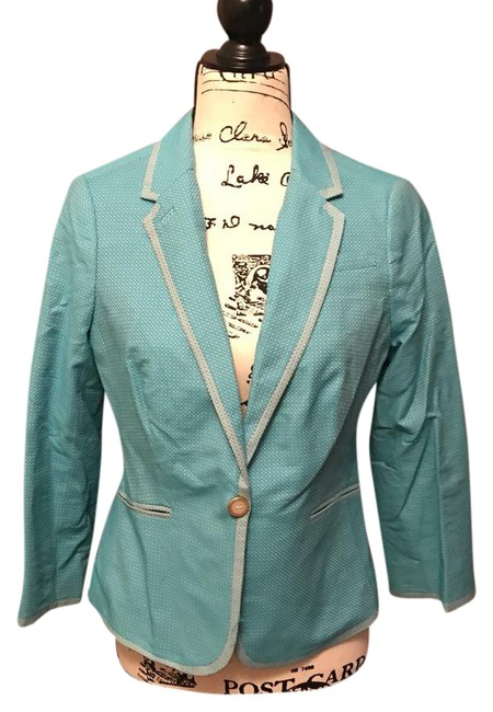 Preload https://item3.tradesy.com/images/the-limited-blue-fitted-blazer-size-4-s-21554847-0-1.jpg?width=400&height=650