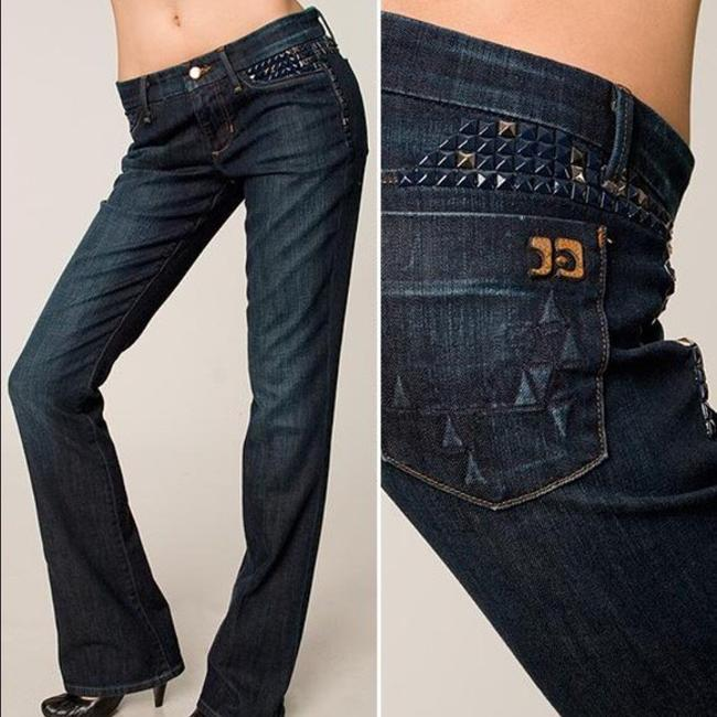 JOE'S Embellished Boot Cut Jeans-Dark Rinse
