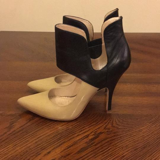 Jean-Michel Cazabat Nude and Black Pumps