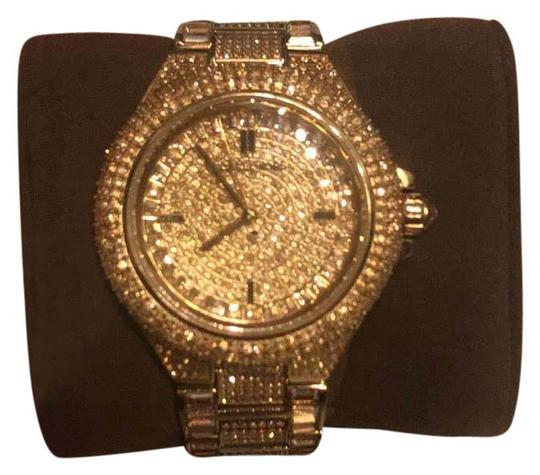 Preload https://item1.tradesy.com/images/michael-kors-gold-with-crystals-swarovski-watch-21555005-0-1.jpg?width=440&height=440