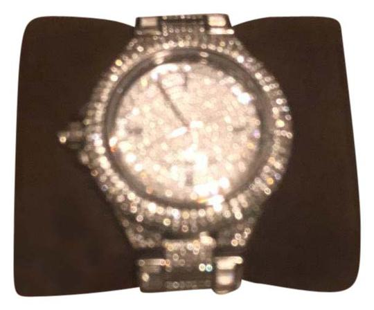 Preload https://item1.tradesy.com/images/michael-kors-silver-with-crystals-swarovski-watch-21555035-0-1.jpg?width=440&height=440