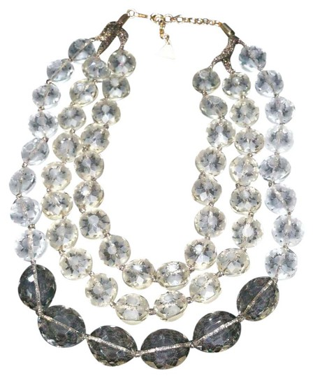 Preload https://img-static.tradesy.com/item/21555049/gold-tone-ribbon-holds-clear-etched-beads-orbital-layered-necklace-0-1-540-540.jpg