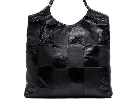 Chanel Cabas Coco Hobo Quilted Patchwork Shoulder Bag