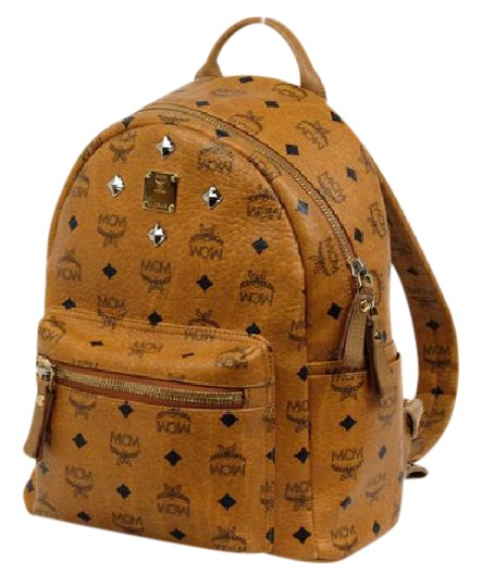 Preload https://item2.tradesy.com/images/mcm-mc-mini-219718-brown-leather-backpack-21555126-0-1.jpg?width=440&height=440