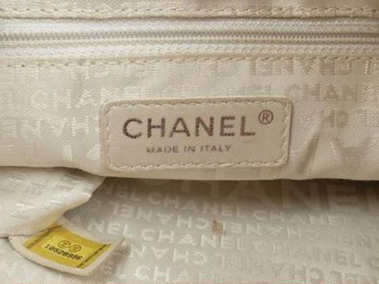 Chanel Whip Stitch Quilted Tote Chain Tote Gst Shopper Shoulder Bag