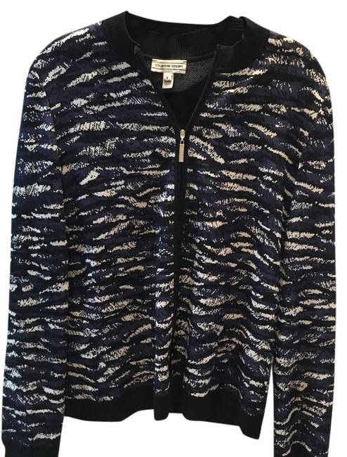 Item - Multi Blue Black Cream Sport Collection Jacket Size 6 (S)