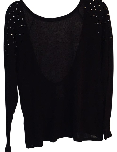 Preload https://item5.tradesy.com/images/pink-black-sweater-night-out-top-size-4-s-21555349-0-1.jpg?width=400&height=650