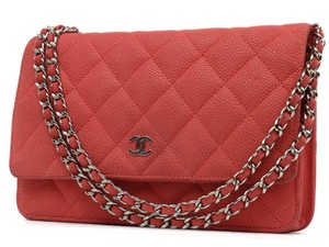 Chanel Woc Wallet On Chain Caviar Flap Small Flap Classic Flap Shoulder Bag
