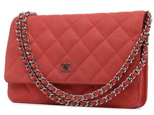 Preload https://item4.tradesy.com/images/chanel-wallet-on-chain-quilted-219717-red-caviar-leather-shoulder-bag-21555448-0-1.jpg?width=440&height=440