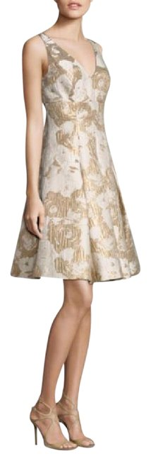 Preload https://img-static.tradesy.com/item/21555482/aidan-mattox-ivory-and-gold-sleeveless-floral-jacquard-party-cocktail-dress-size-0-xs-0-1-650-650.jpg