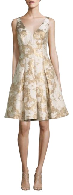 Preload https://item3.tradesy.com/images/aidan-mattox-ivory-and-gold-sleeveless-floral-jacquard-party-cocktail-dress-size-14-l-21555487-0-1.jpg?width=400&height=650