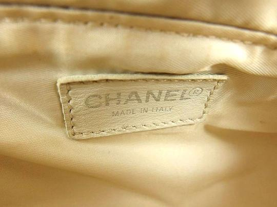 Chanel Cosmetic Travel Pouch Vanity Make Up Hobo Bag