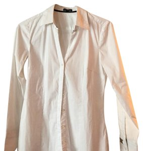 Express Button Down Shirt White