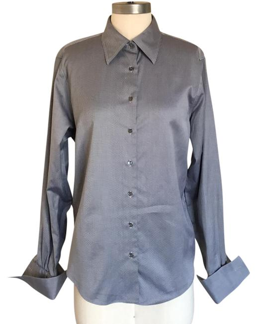 Preload https://item5.tradesy.com/images/brooks-brothers-black-semi-fitted-all-cotton-shirt-button-down-top-size-12-l-21555644-0-4.jpg?width=400&height=650
