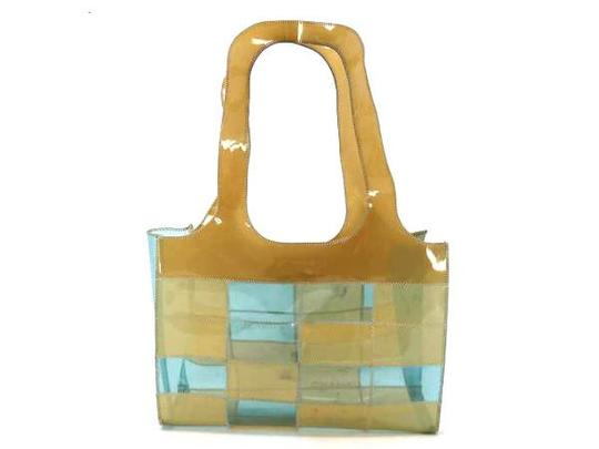Preload https://item4.tradesy.com/images/chanel-clear-patchwork-219502-beige-x-blue-vinyl-tote-21555653-0-0.jpg?width=440&height=440