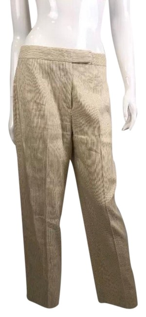 Preload https://item2.tradesy.com/images/giorgio-armani-off-white-coated-pants-capricropped-jeans-size-29-6-m-21555656-0-1.jpg?width=400&height=650