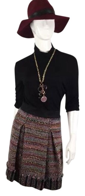 Preload https://item1.tradesy.com/images/phoebe-couture-blackmulticolor-wool-mid-length-workoffice-dress-size-2-xs-21555675-0-1.jpg?width=400&height=650