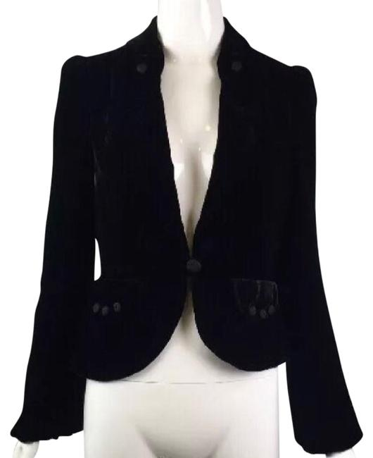 Preload https://img-static.tradesy.com/item/21555734/marc-jacobs-black-velvet-blazer-size-2-xs-0-1-650-650.jpg