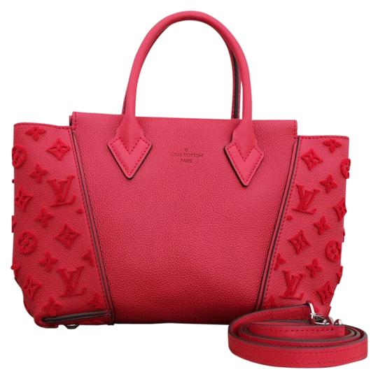 Preload https://item3.tradesy.com/images/louis-vuitton-w-veau-cachemire-bb-2way-219351-red-leather-tote-21555902-0-2.jpg?width=440&height=440