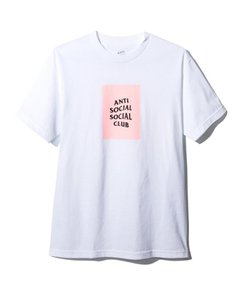 Anti Social Social Club Fashion Hype Street T Shirt white, pink