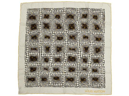 Louis Vuitton Infinity Pumpkin Dot Scarf 219444