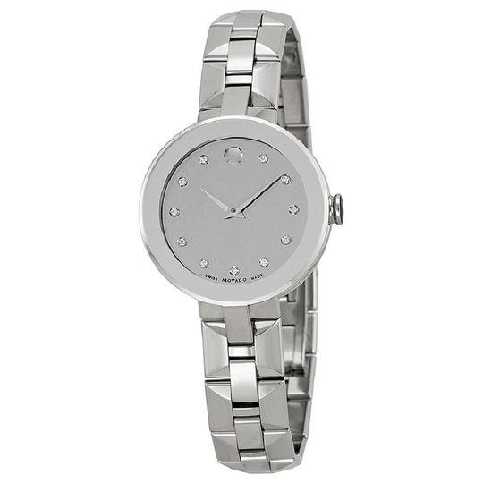 Preload https://item5.tradesy.com/images/movado-silver-mirror-sapphire-dial-stainless-steel-ladies-watch-21556089-0-0.jpg?width=440&height=440