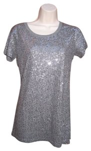 DKNY T Shirt Heather Gray