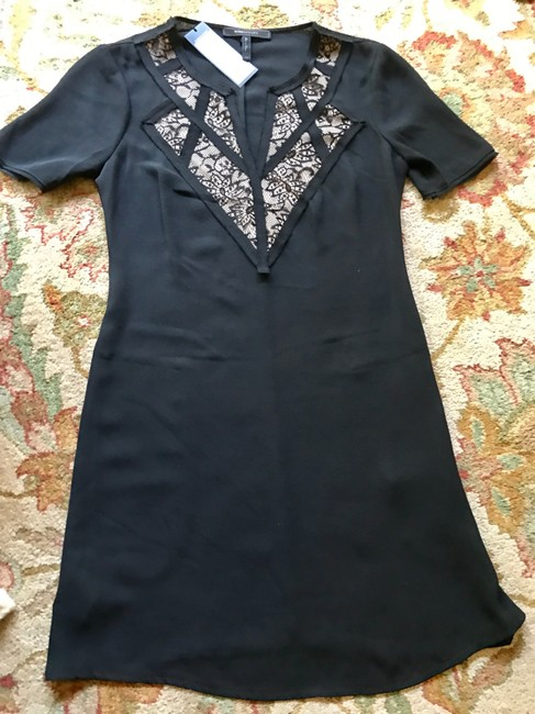 BCBGMAXAZRIA short dress Black Shift Night Out Comfortable Flattering on Tradesy