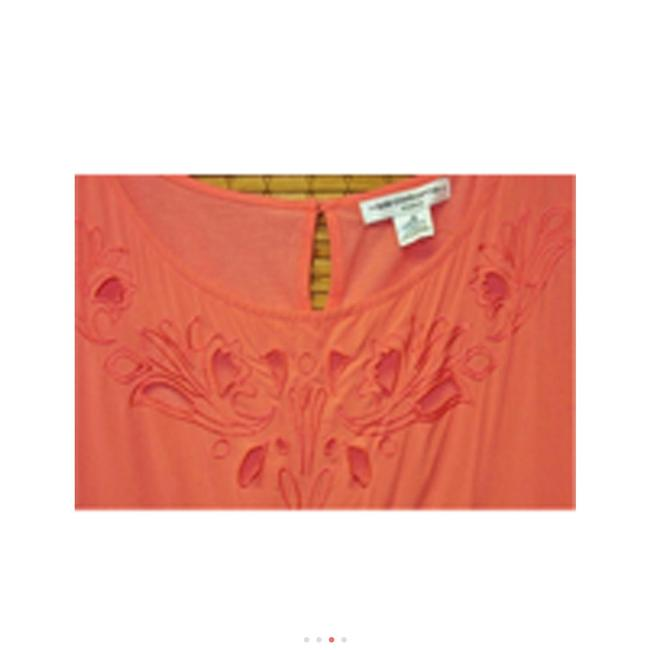 Liz Claiborne Orange Top Coral