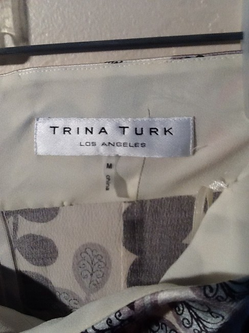 Trina Turk Top Magenta and Black