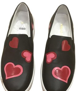 Prada Black with red hearts Athletic